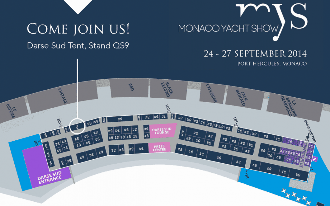 Come join us at the Monaco Yacht Show