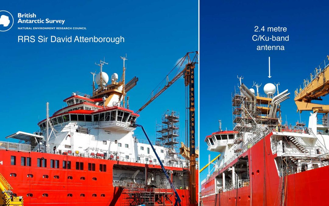 "New polar research ship named ""RRS Sir David Attenborough"""