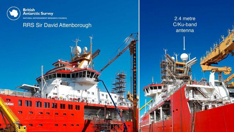 "New polar research ship named ""RRS Sir David Attenborough"""