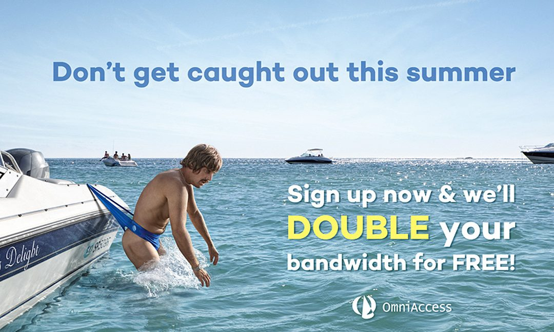 Existing Customers – Upgrade now & we'll double your bandwidth for FREE!