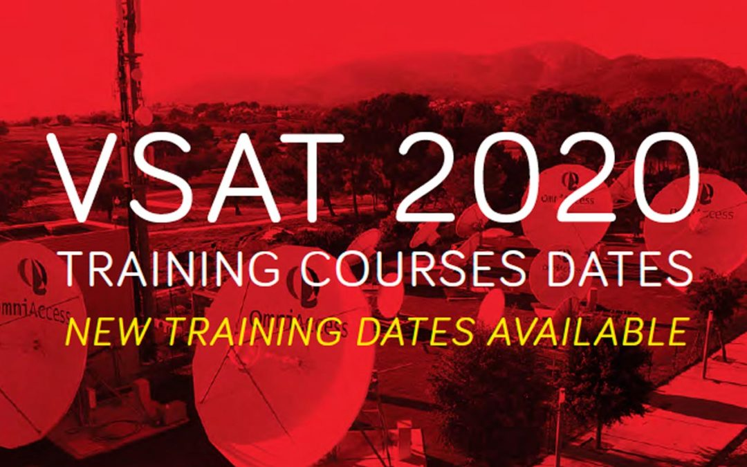 You can now join us online for our monthly VSAT training courses (2020)