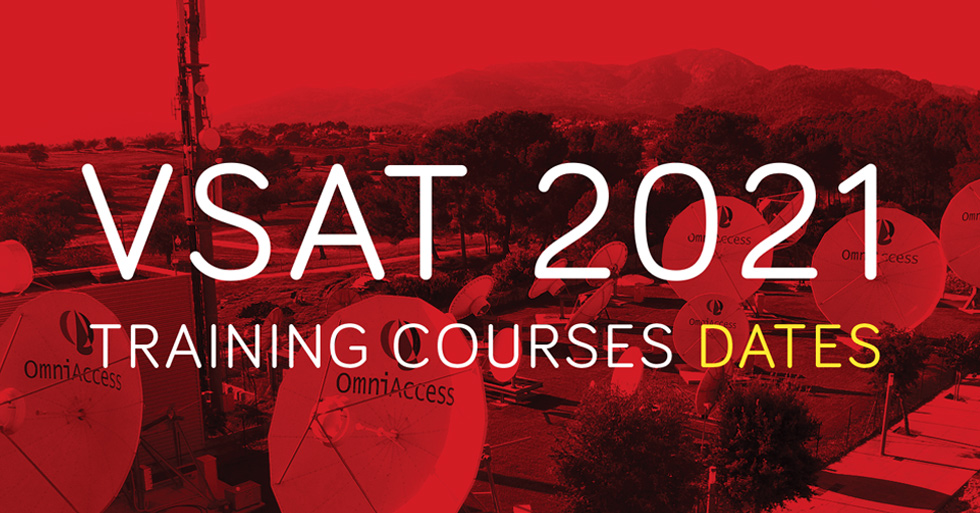 New VSAT Training dates for 2021